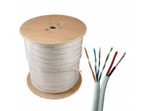Cable siames UTP NRG+ Cat 5E cobre + corriente 305m