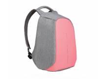 Mochila anti robo 15.6 colores rosa-gris