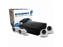 Kit Ursafe DVR HD 4 Camaras