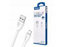 Cable Inkax MicroUSB 2A elastico