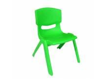 Silla de plástico para niño verde