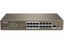 Switch Tenda PoE 16+2 puertos gigabit