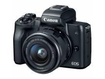 Camara Canon M50 Mirrorless lente 15-45mm