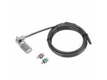 Cable Seguridad Targus Acero 3 en 1