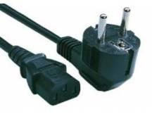 Cable de poder schuko 1 metro