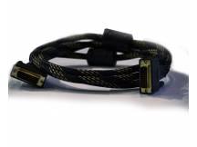 Cable dvi 24 pin macho macho 1.8m