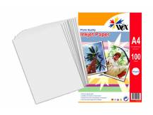 Papel wox inkjet alta resolución a4 110grs. X 100 uds.