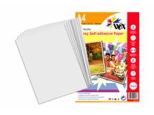 Papel wox glossy fotográfico a4 - autoadhesivo 128grs. X 20 uds.