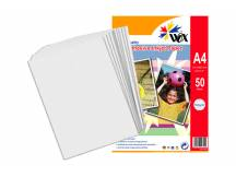 Papel wox inkjet alta resolución a4 - autoadhesivo 130grs. X 50 uds.