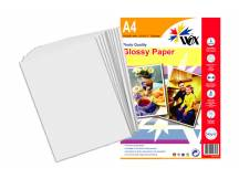 Papel wox glossy fotográfico a4 240grs. X 20 uds.