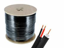 Cable siames NRG+ coaxil + corriente 305m