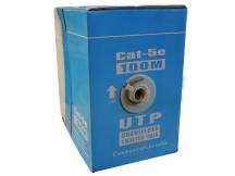 Cable UTP NRG+ Cat5E 100 metros - aluminio