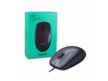 Mouse óptico Logitech M90 negro