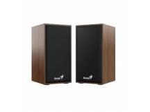 Parlante Genius SP-HF180 6W USB madera