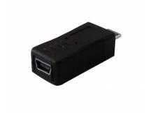 Adaptador mini USB hembra a micro USB macho